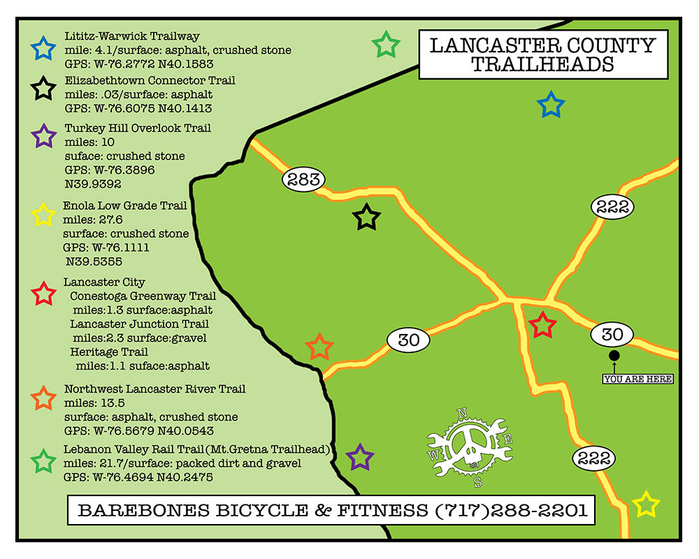 Lancaster County Bike Trails Maps | Bicycle In Lancaster ... on map of eastern pa, mapquest lancaster pa, map of pa lititz borough, map of berks county pa, map of reno county ks, map of mount joy pa, map of arendtsville pa, map of schuylkill river pa, map of lehigh county pa, map of harford county md, map of reading pa, map of bowmansville pa, map of pennsylvania, map of bucks county pa, map of montgomery county pa, map of strasburg pa, map of franklin county pa, map of lebanon county pa, tourist map lancaster pa, map of cumberland county pa,
